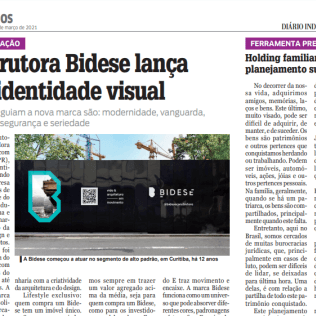"""Diário Indústria & Comércio - """"Construtora Bidese lança nova identidade visual"""""""