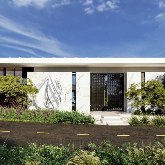 Casa DRE: Arquitetura imponente | Bidese